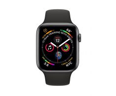 Apple Watch Series 4 - 44mm GPS Space Gray Aluminium Case with Sports Band - S