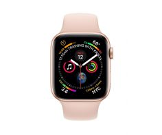 Apple Watch Series 4 - 44mm GPS Gold Aluminium Case with Sports Band - S