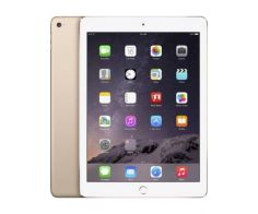 Apple iPad Air 2, 9.7-inch, 64GB, 2nd Generation, Wi-Fi, Gold, with FaceTime - P