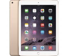 Apple iPad Air 2, 9.7-inch, 16GB, 2nd Generation, Wi-Fi, Gold, with FaceTime