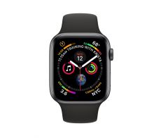 Apple Watch Series 4 - 40mm GPS Space Gray Aluminium Case with Sports Band - S